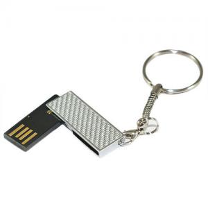 China Micro USB Flash Drive 128MB 256MB 512MB 1GB With Custom Logo, Keyring on sale