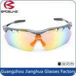Outdoor Polarized Sports Interchangeable Lens CE UV400 Sunglasses For Cycling Fishing