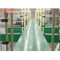 China Dual Face Turning Conveyor Belt Line Automated Conveyor Systems For Material Transfer on sale
