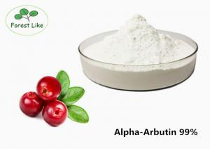 China Pure Alpha Arbutin Powder 99% / Natural Cosmetic Ingredients CAS 84380-01-8 on sale