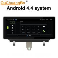 China Ouchuangbo 10.25 inch car audio gps navi for Audi Q3 2011-2018 support BT aux android 4.4 on sale