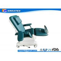 China Medical Dialysis Chair With Two Electric Motors , Infusion / Blood Donation Chairs on sale