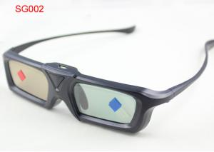 China Infrared Active Shutter 3D TV Glasses Universal With Mini USB Connector on sale