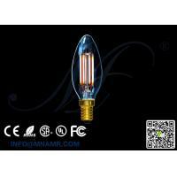 China Candelabrum 4watts 240v LED Filament Light C35 E14 Edison Bulbs 2200-6000k on sale