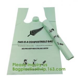China manufacturer biodegradable compostable cornstarch garbage bags,Biodegradable Compost Film Bag,Compostable disposable bio on sale