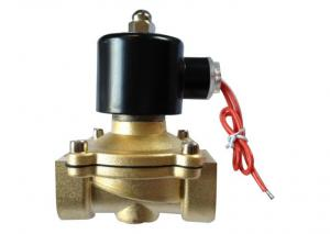 China Small Electric Water Valve , Bistable Latching Electric Solenoid Air Valve on sale