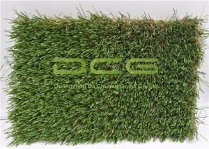 China C Shape Synthetic Artificial Grass Landscaping For Children Playground on sale