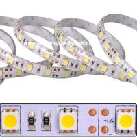 flexible LED light strip with High Power 5050SMD 60leds/m 12VDC operation can be cut into 3-LED segments