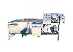 China CE,ISO Approved 500kg/H Fruit Washing Equipment on sale