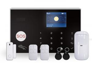 China Gsm Tuya Mini Wireless Home Security Alarm System 3 Wired Zones With Ip Camera on sale