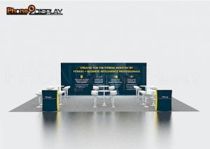 China Quick Setup Portable Exhibition Booth Display Banner Stand With Color Customized on sale