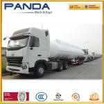 China Panda 3 axle fuel tanker trailer 40,000litres or 45,000litres fuel tanker for sale wholesale