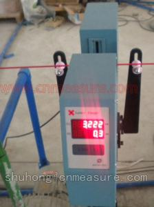 China Wire Cable Pipe Non-contact laser diameter measuring gauge on sale