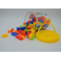 China Kids Building Blocks Educational Toys , Children's Building Sets 110Pcs In Bucket on sale