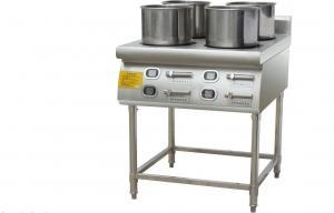 China Floor Electric Burner Cooking Range Stainless Steel Six Head Burner 6 Burner Range on sale