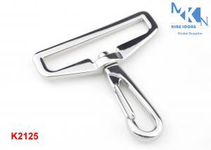 China Nickle Color Swivel Snap Trigger Hook Clips , Metal Swivel Snap Hook For Strap Belting on sale