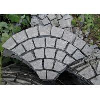 Floor Granite Stone Tiles Corrosion Resistance Customized Cut Size