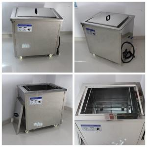 China 88L 1200W Medical Ultrasonic Cleaner For Dental Instruments / False Teeth on sale