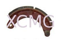 China Non-Asbestos Semi Metal Brake Shoe Truck Crane Reliable XCMG Spare Parts on sale