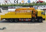 Sinotruk Howo Chassis 8x4 Heavy Duty Crane Truck Telescope Boom Crane Truck Mounted