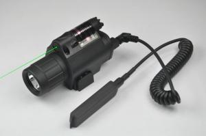 China Green Laser Sight and LED Flashlight Combo with Quick Rail Mount gun sight on sale