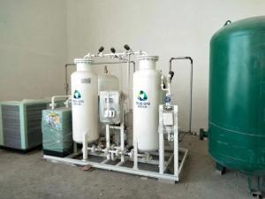 China Carbon / Stainless Steel PSA Nitrogen Generator For Pharmaceutical / Medical on sale