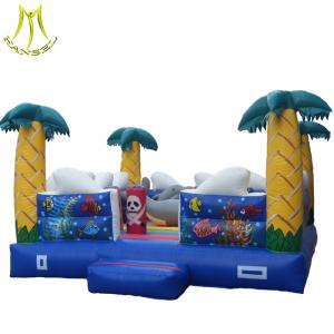 China Hansel    kids amusement equipment jumping balloons inflatable tree house for sale on sale