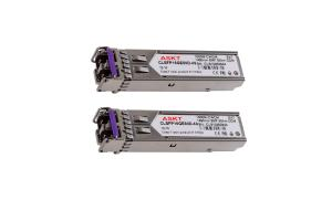 China LC Dulplex CWDM SFP Transceiver 1000M , Cisco SFP Modules 1490nm 80km 100km on sale
