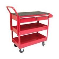 cold rolled steel 100% extension PP Rolling Tool Cart with Heavy duty swivels and casters