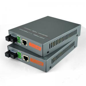 China 1000M Gigabit fiber optic media converter Singlemode Single Fiber Built-in/1pair on sale