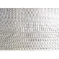 Decorative Architecture Punching Sheet Metal Carbon Steel With 0.8mm - 25mm Hole