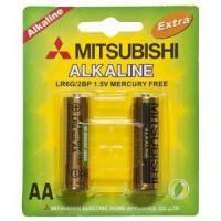 China Lr6 Mitsubishi Alkaline Battery (LR6) AA battery on sale