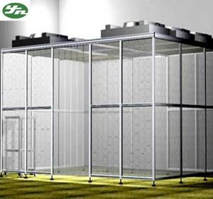 China GMP Hardwall modular clean room provide installation for pharmaceutical industry on sale