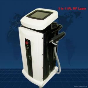 China High Tech 3 In 1 IPL RF Laser Machine For Removing Hair / Acne Scarring Treatment on sale