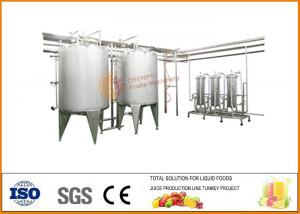 China Automatic Bayberry Fruit Wine Production Line 3000T / Year Complete on sale