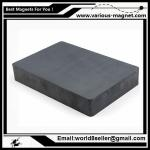 Size:F84X64X14/Ferrite block magnet for magnetic separator with high magnetic induction