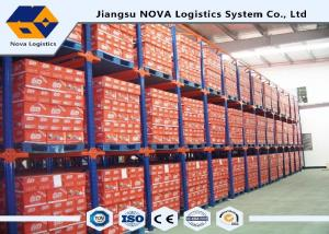 China TUV Heavy Duty Steel Storage RacksBottom Level For Lowering Structure Costs on sale