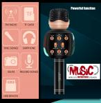 1500mAh Sound Recording Microphone , Wireless Bluetooth Microphone Professional Tuning Switch