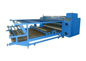 China Multifunction Oil Drum Type Roll To Roll Heat Press Machine For Sport Wear on sale
