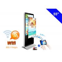 WIFI Digital Signage Full HD Advertising LCD Display Kiosk with USB Memory card