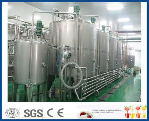 China Industrial Beverage Production Line Tea Drink Making Machine Customized Design on sale