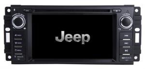 China Jeep Dodge Dakota Chrysler 300C Android 9.0 IPS Screen Car DVD Player Support DAB JEP-6202GDA on sale