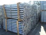 Appui verticaux en acier réglables de coffrage de galvanisation utilisés dans le système de coffrage d'appui vertical