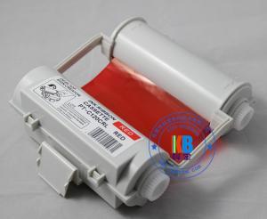 China Tipo compatível etiquetas exteriores vermelhas da fita SL-R102 da impressora de cor que imprimem para a impressora térmica máxima CPM-100HG3C da etiqueta de Bepop on sale