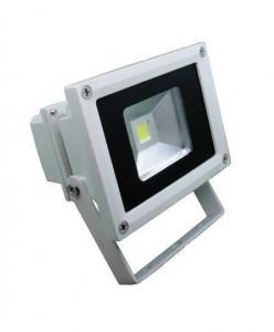 China 1500 Lumens 10 Watt Outdoor LED Flood Lighting Ultra Slim Die Casting Aluminum on sale