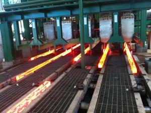 China R8m And 5 Strands Continuous Cast Billets with High-low Track Drive on sale