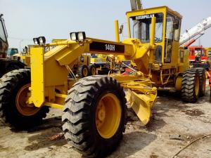China Used Motor Grader CAT CATERPILLAR 140H Motor Grader FOR SALE on sale