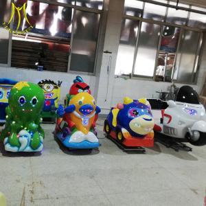 China Hansel fiberglass fish amusement park games train kiddie rides for sale on sale