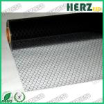 No Powder / Oil ESD PVC Grid Curtain , Anti Static PVC Curtain Size 1.37 X 30m