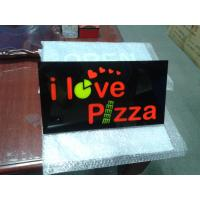 Durable Acrylic LED Resin Signs / LED Open Sign High Brightness RGB Light Color